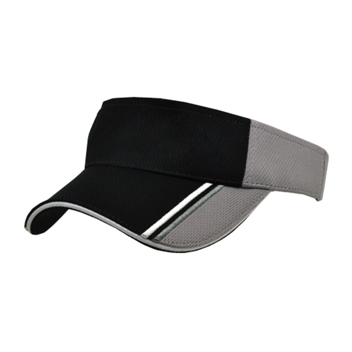 Visor-Black / White / Dark Grey