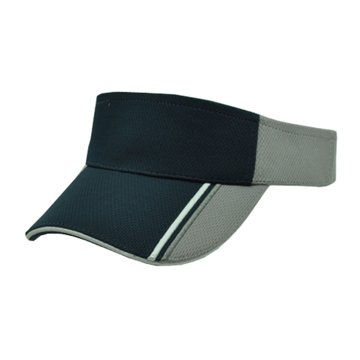 Visor-Navy / White / Dark Grey