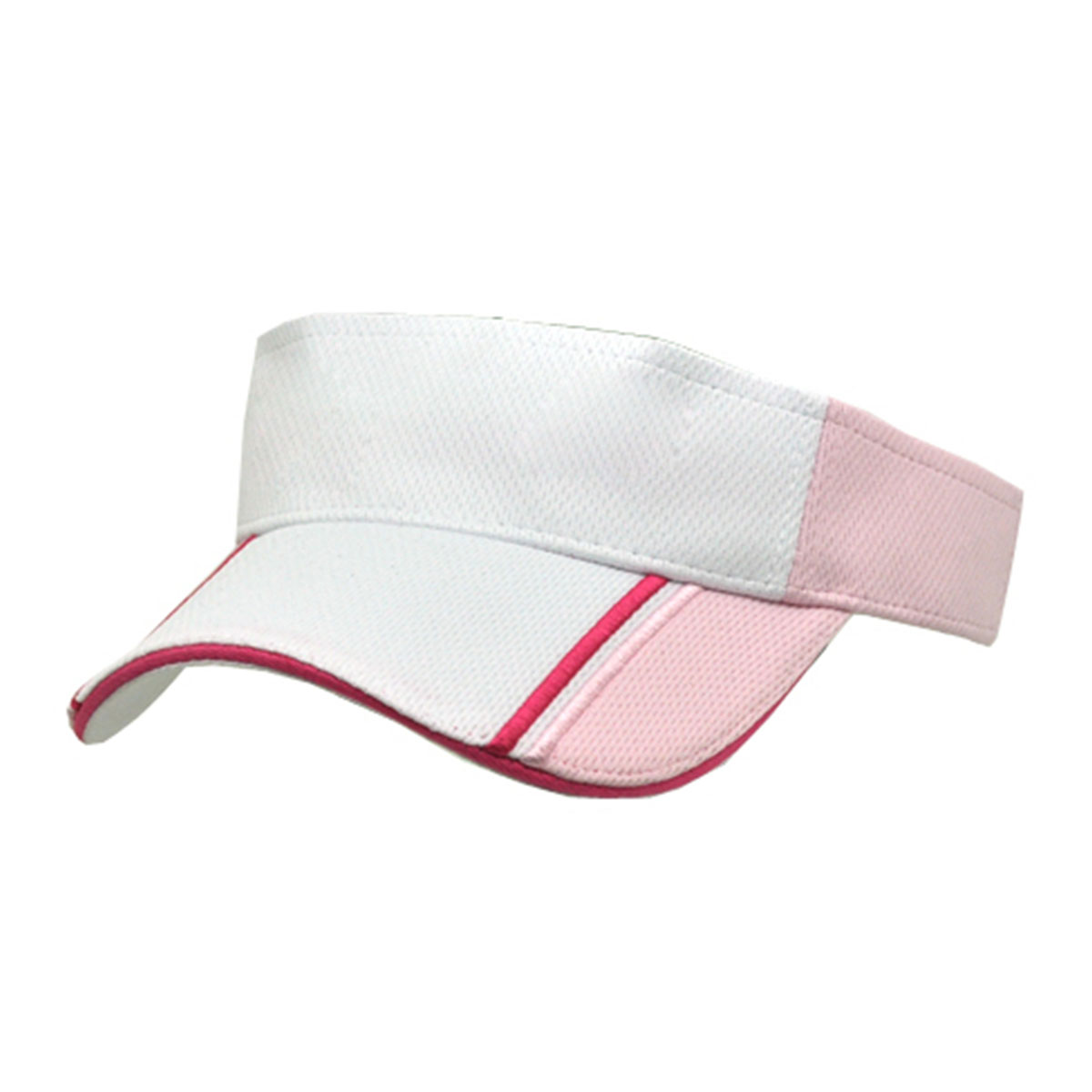 Visor-White / Hot Pink / Pink