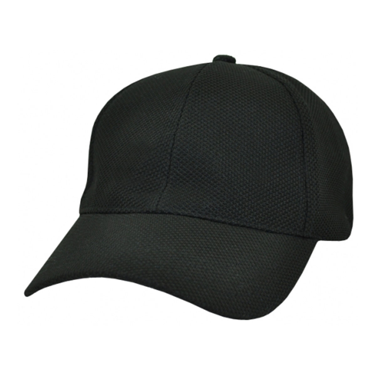 PQ Mesh Fitted Cap-Black