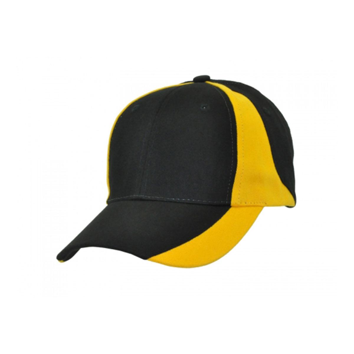 Vertek Cap-Black / Aussie Gold
