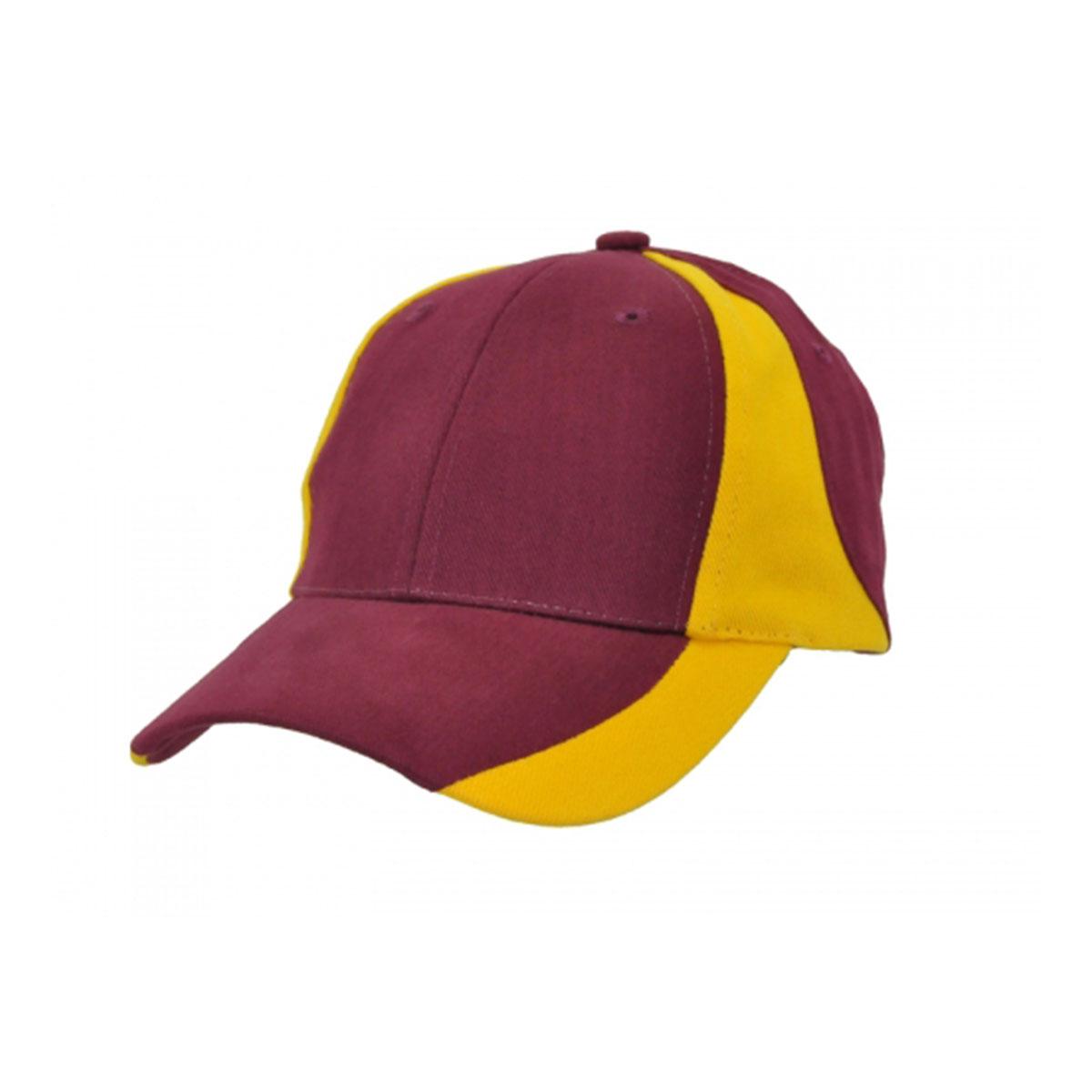 Vertek Cap-Maroon / Aussie Gold