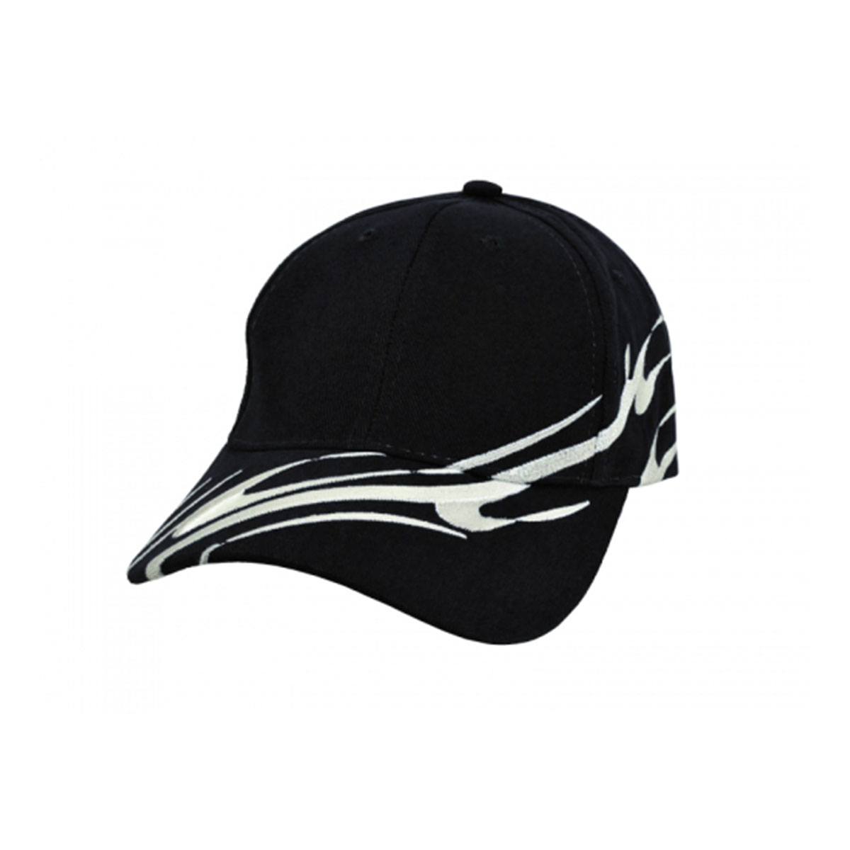 Wave Cap-Black / White