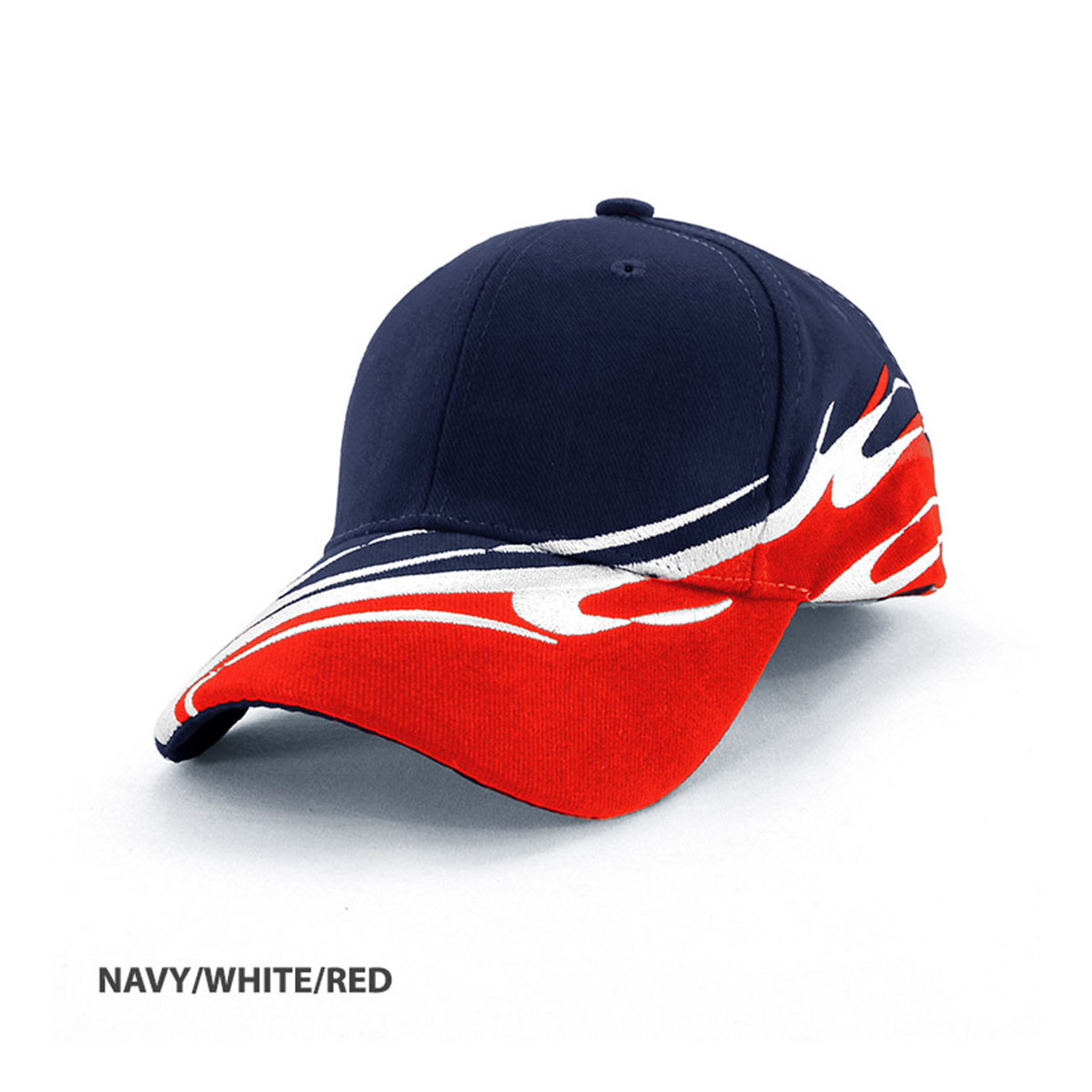 Wave Cap-Navy / White / Red