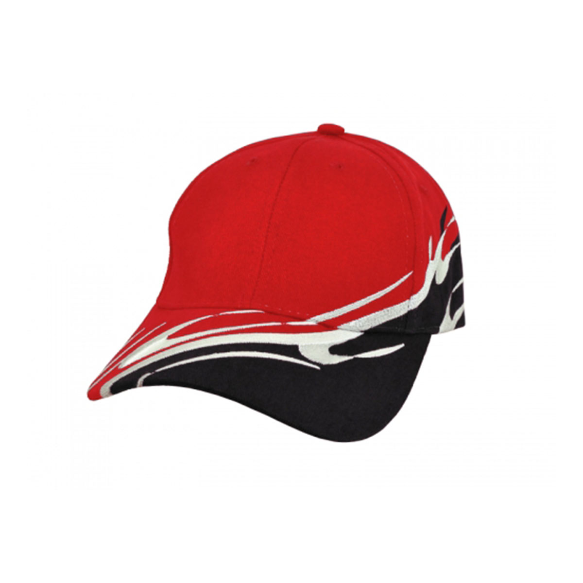 Wave Cap-Red / White / Black