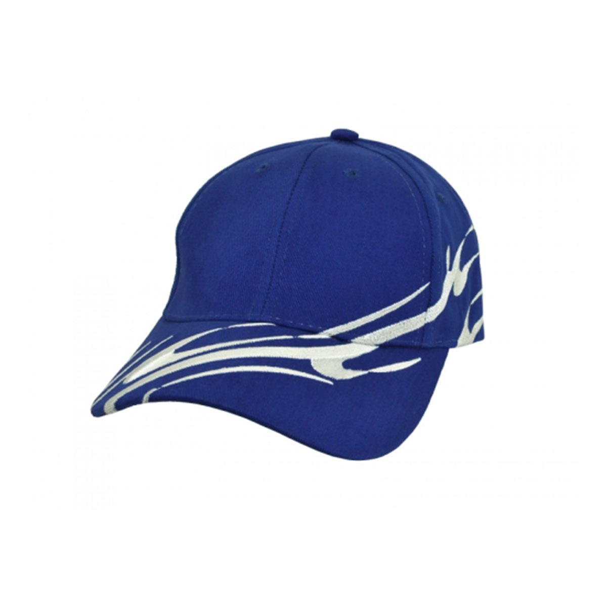 Wave Cap-Royal / White