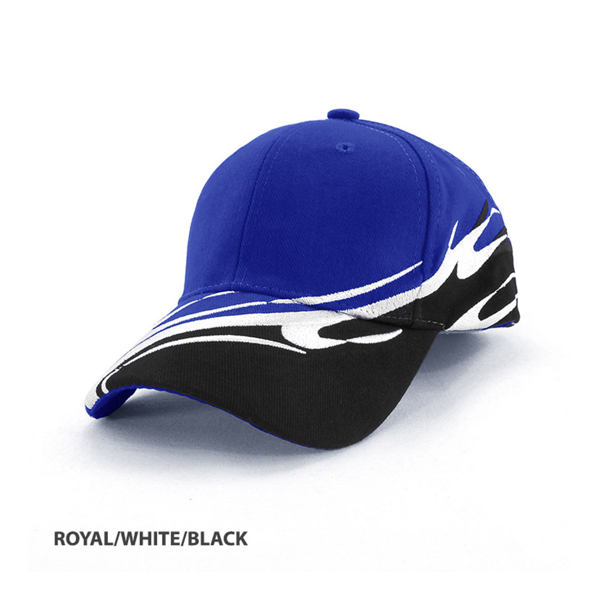 Wave Cap-Royal / White / Black