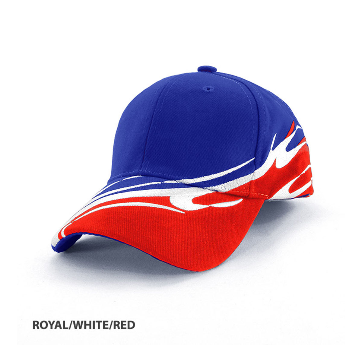 Wave Cap-Royal / White / Red
