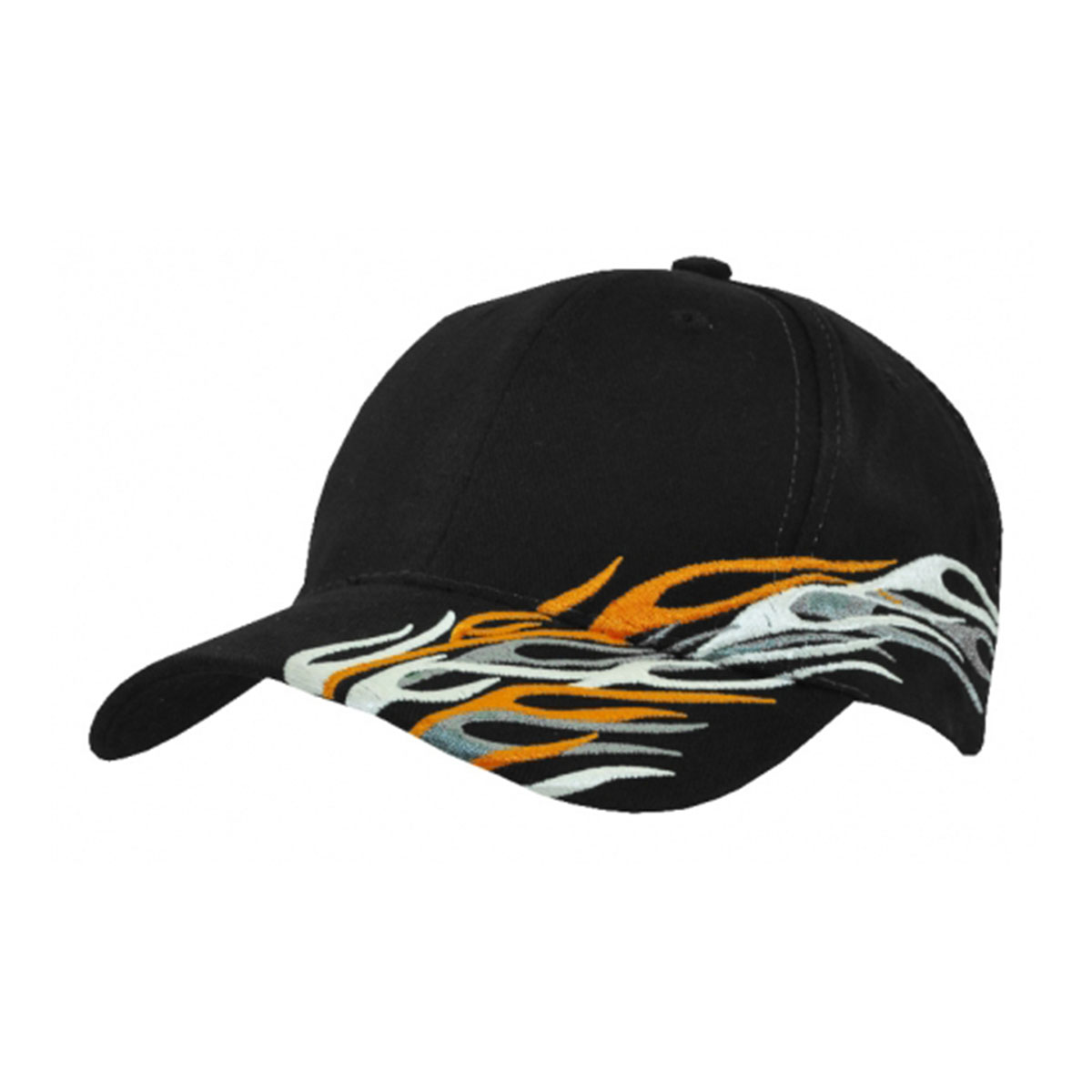 Cyclone Cap-Black / White / Grey / Orange