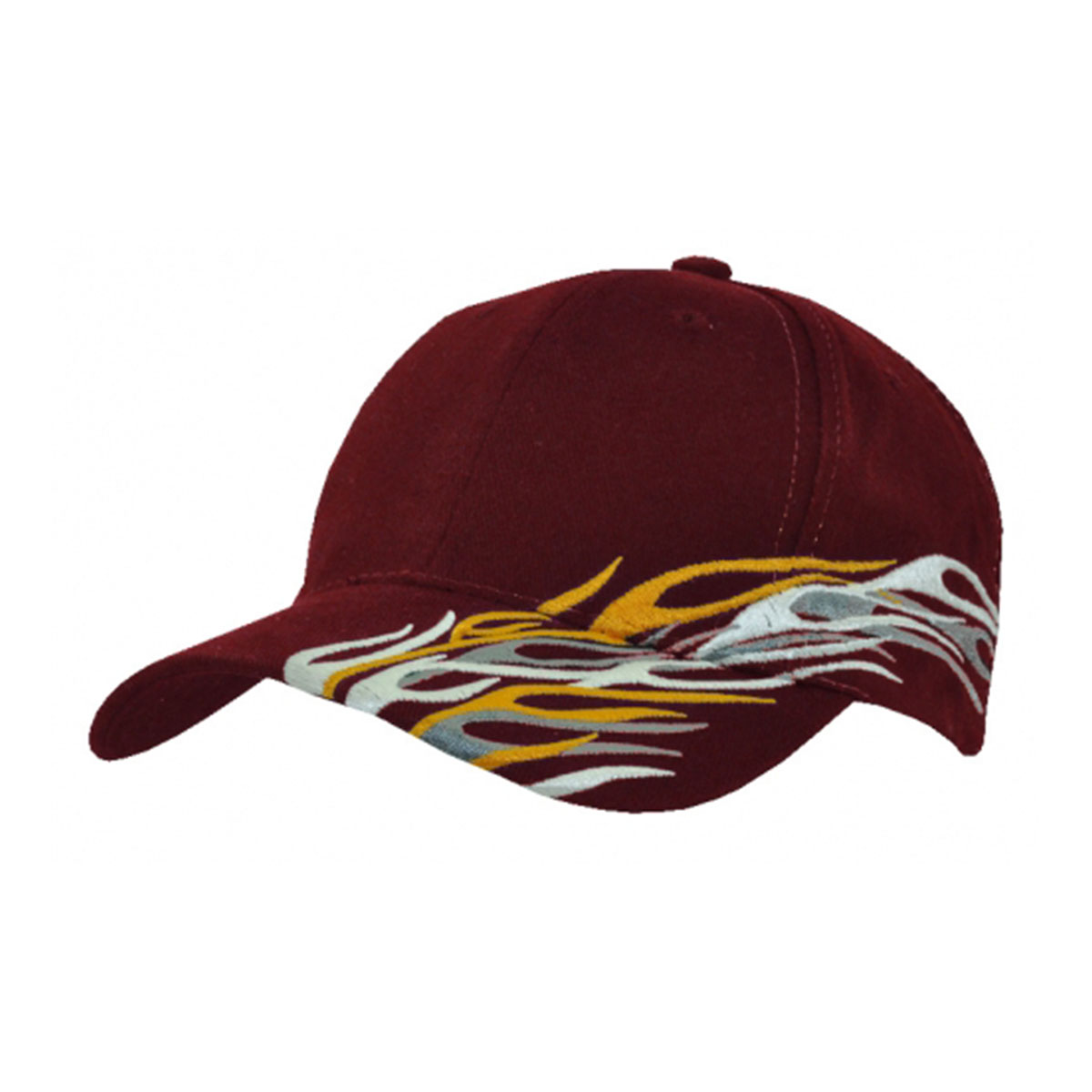 Cyclone Cap-Maroon / White / Grey / Gold