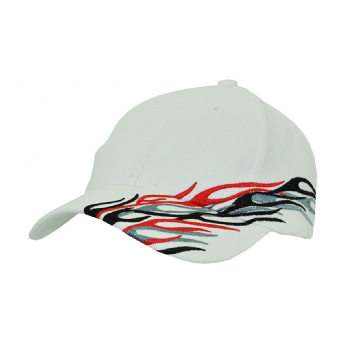 Cyclone Cap-White / Black / Grey / Red