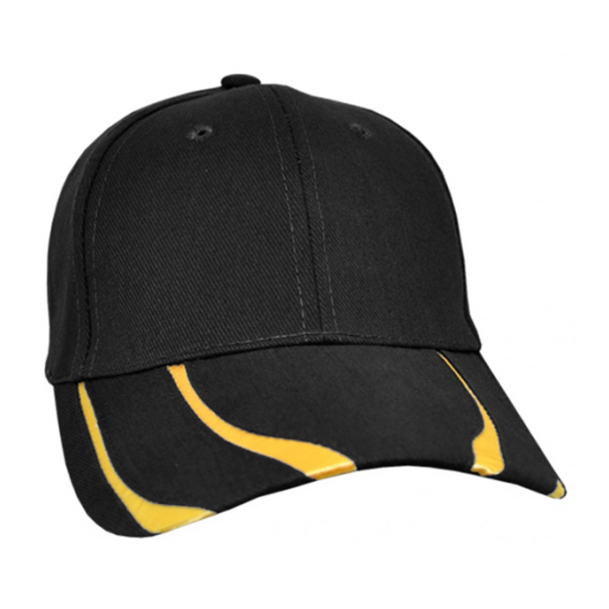Striker Cap-Black / Gold