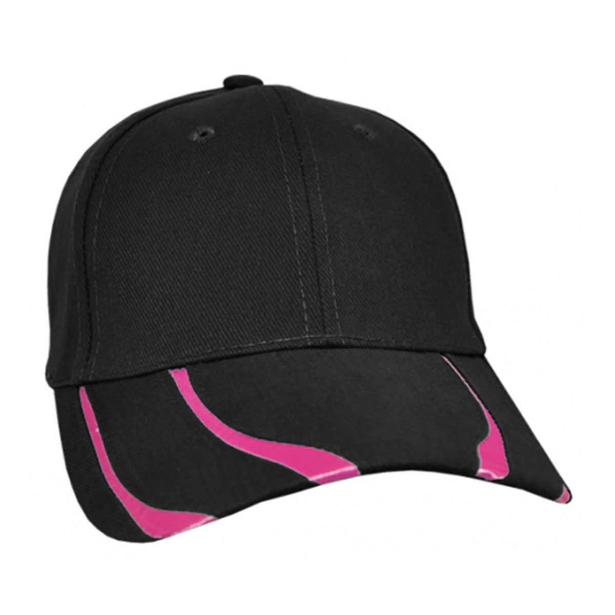 Striker Cap-Black / Hot Pink