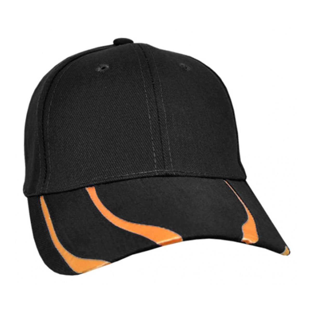 Striker Cap-Black / Orange