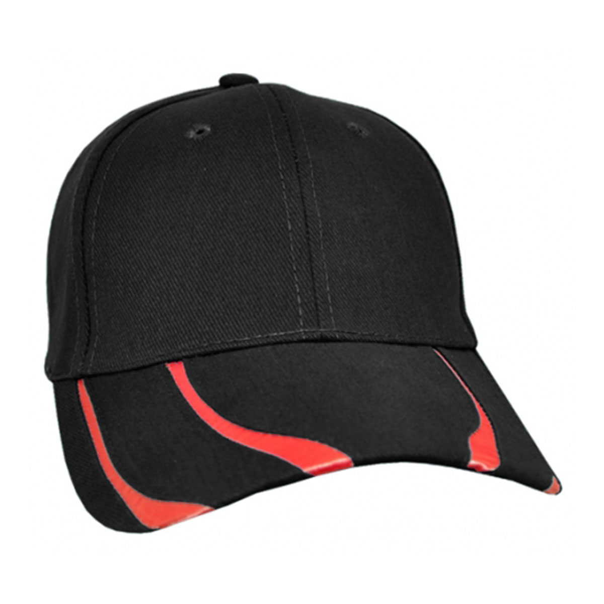 Striker Cap-Black / Red