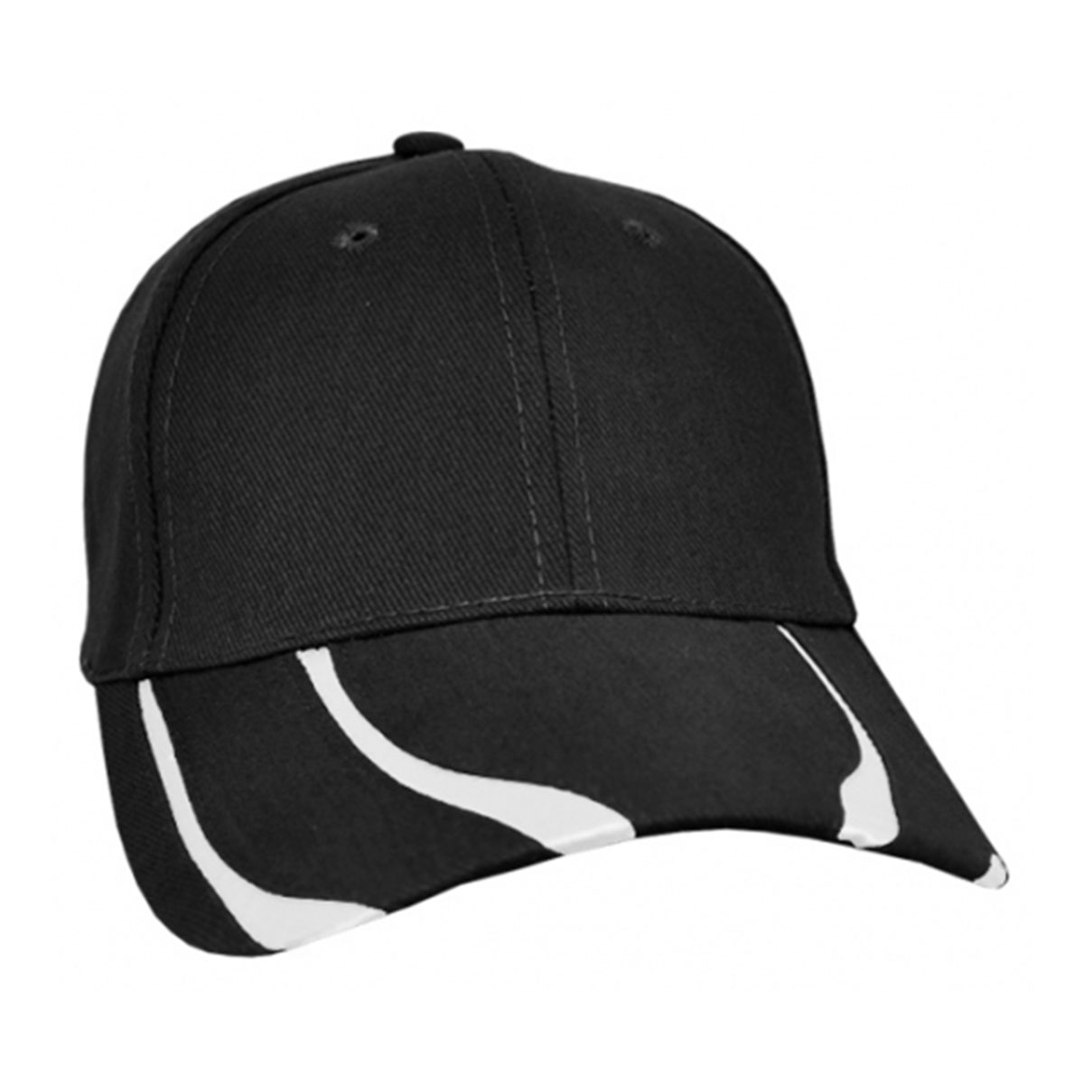 Striker Cap-Black / White