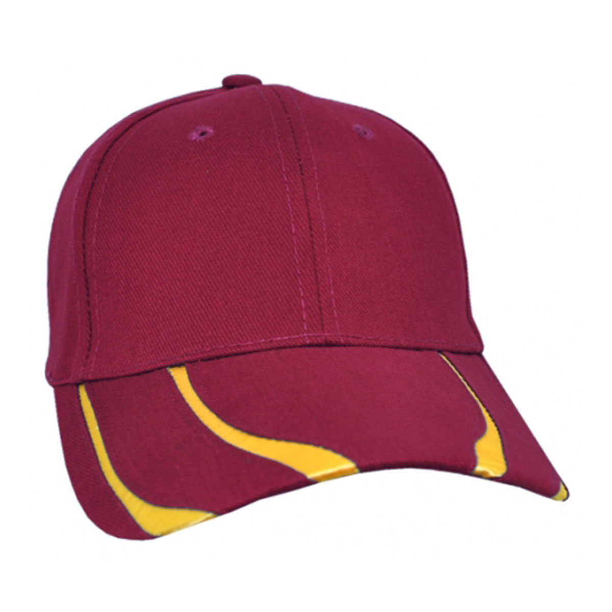 Striker Cap-Maroon / Gold