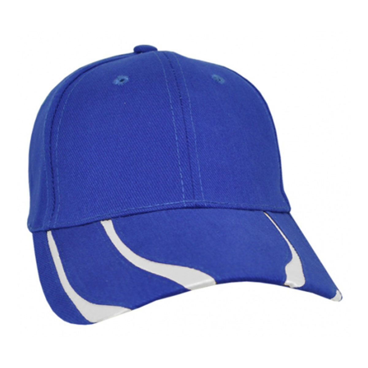 Striker Cap-Royal / White