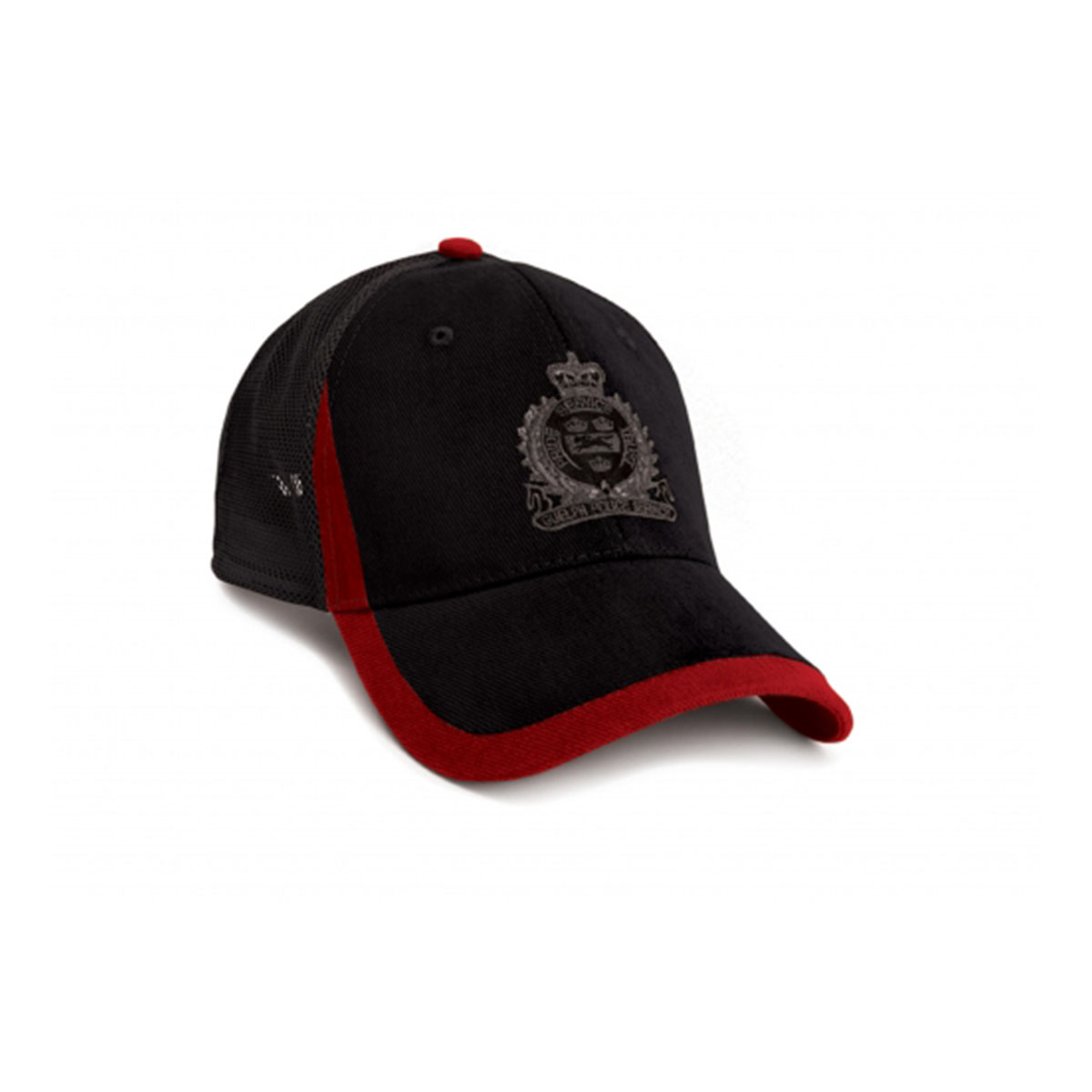 Trix Cap-Black / Red