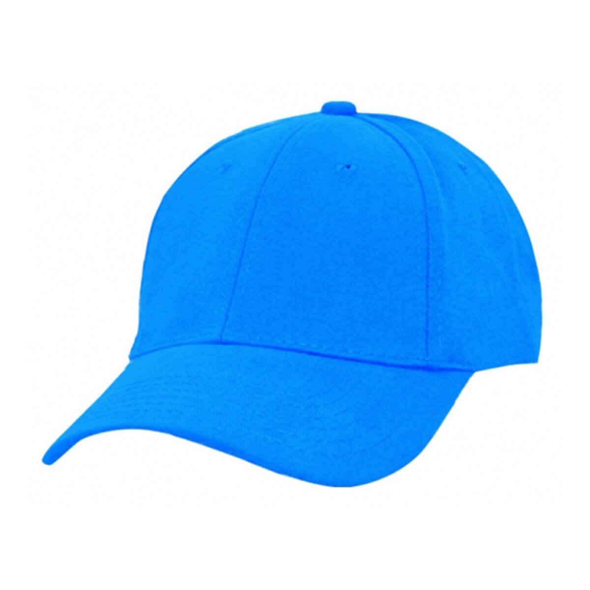 Heavy Brushed Cotton Cap-Aqua