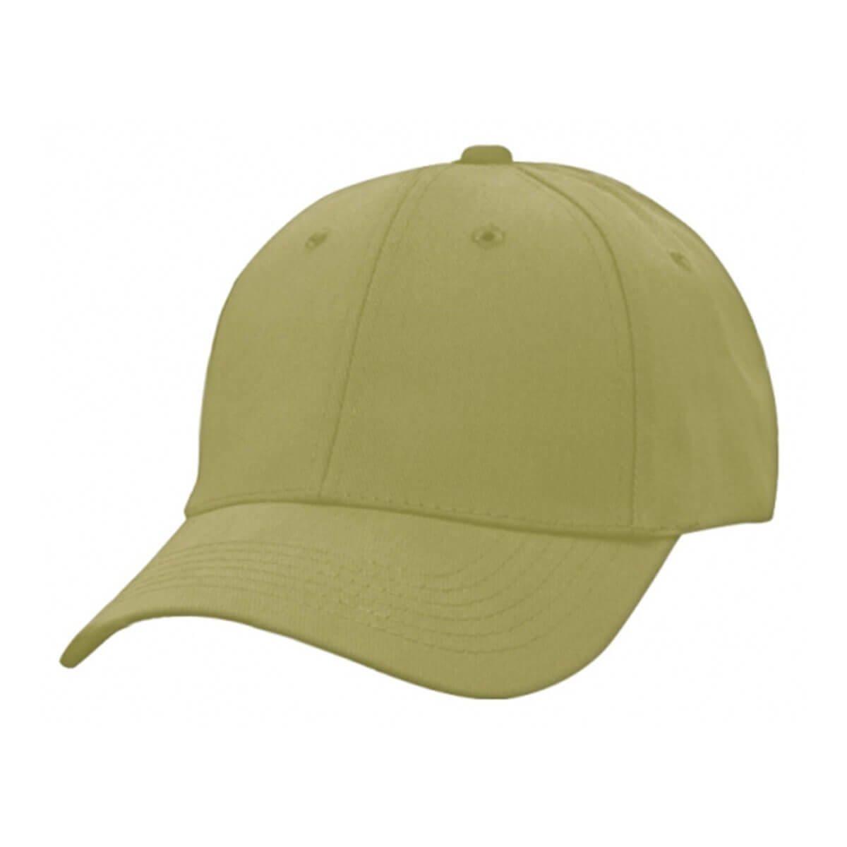 Heavy Brushed Cotton Cap-Dark Khaki