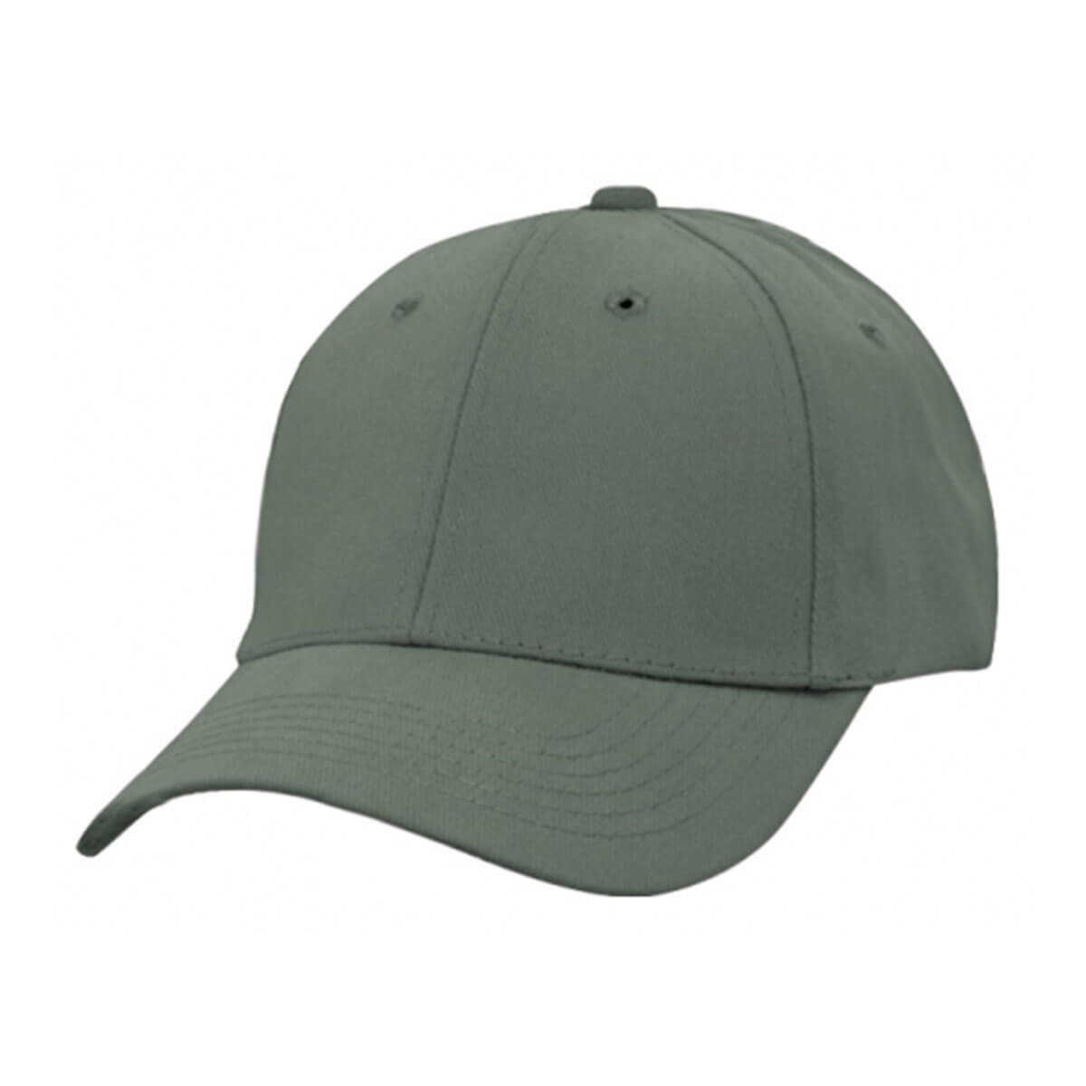 Heavy Brushed Cotton Cap-Charcoal