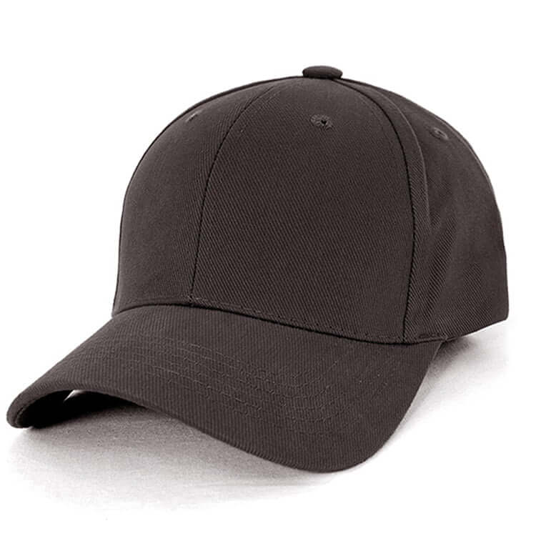 Heavy Brushed Cotton Cap-Dark Charcoal