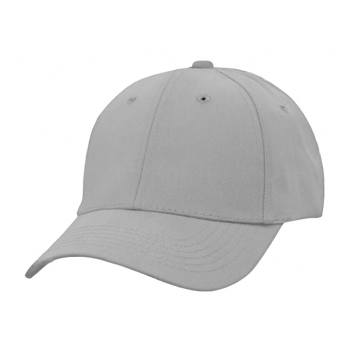 Heavy Brushed Cotton Cap-Dark Grey