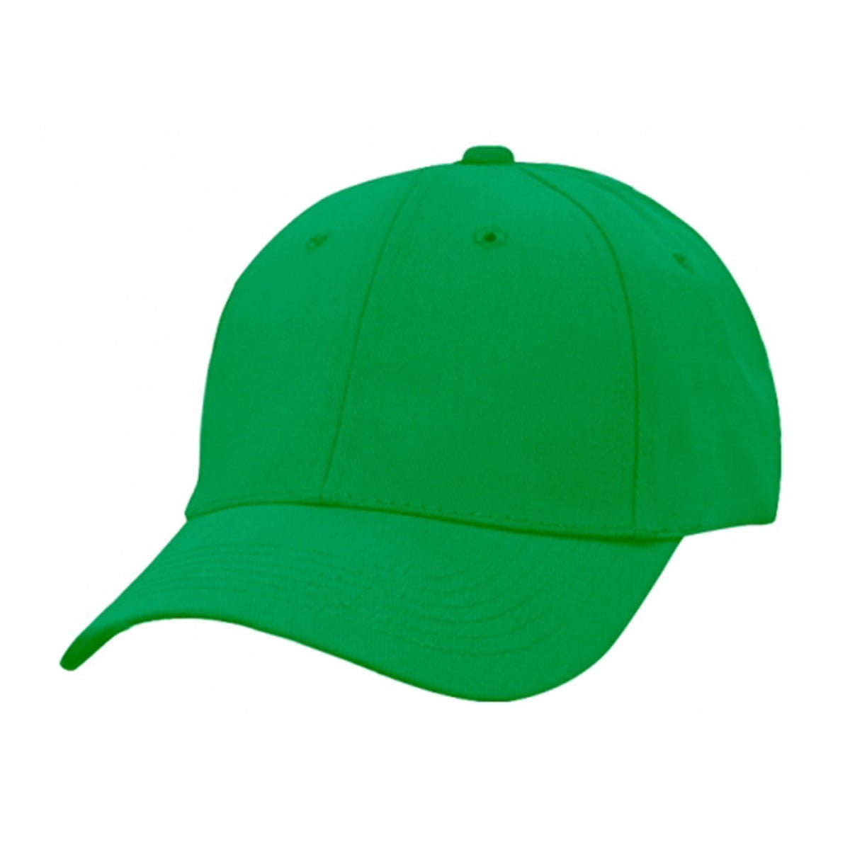 Heavy Brushed Cotton Cap-Emerald