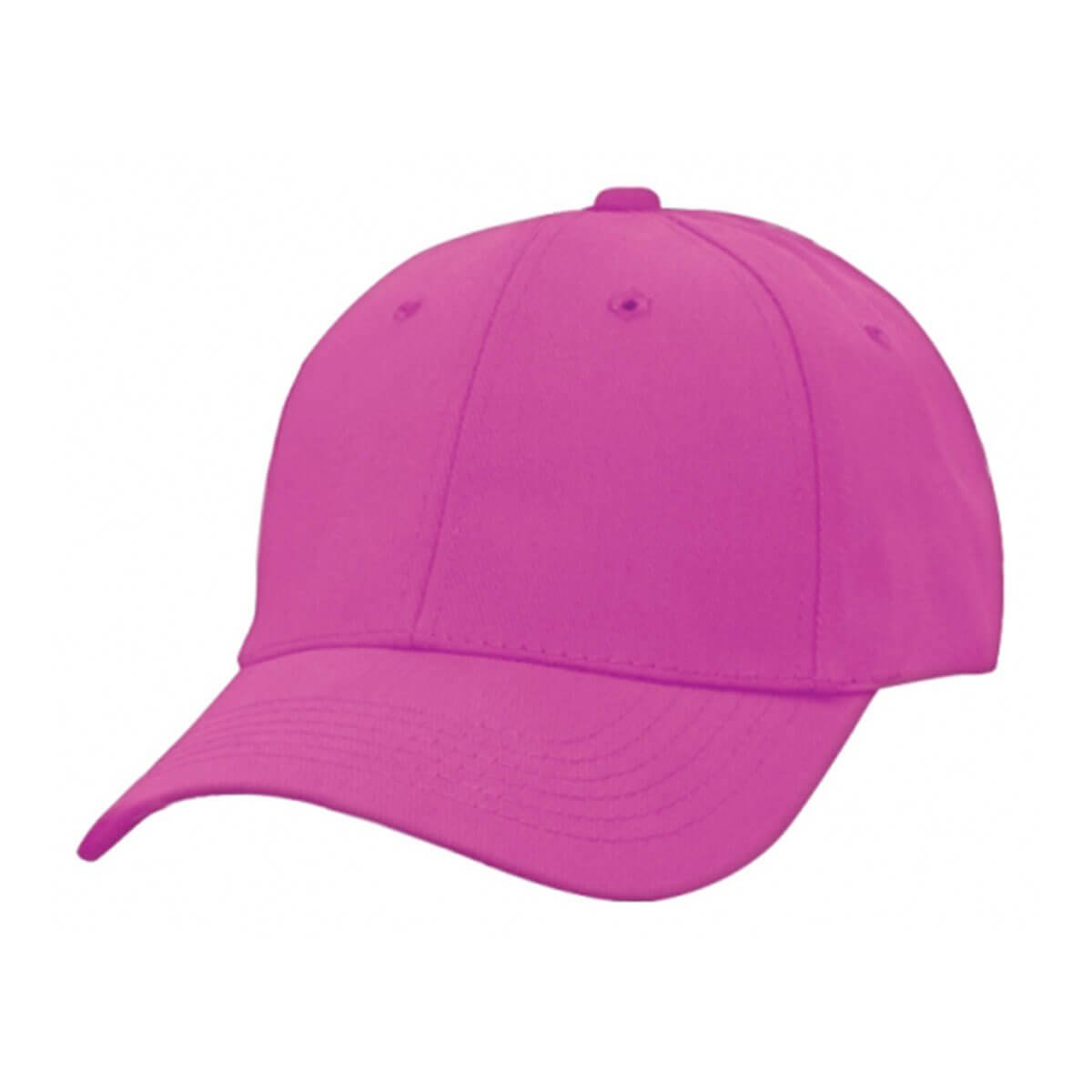 Heavy Brushed Cotton Cap-Hot Pink