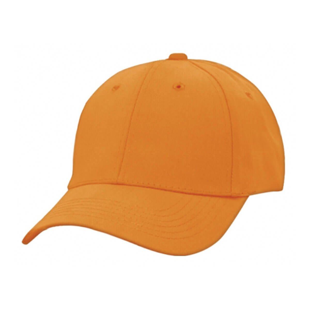 Heavy Brushed Cotton Cap-Ochre