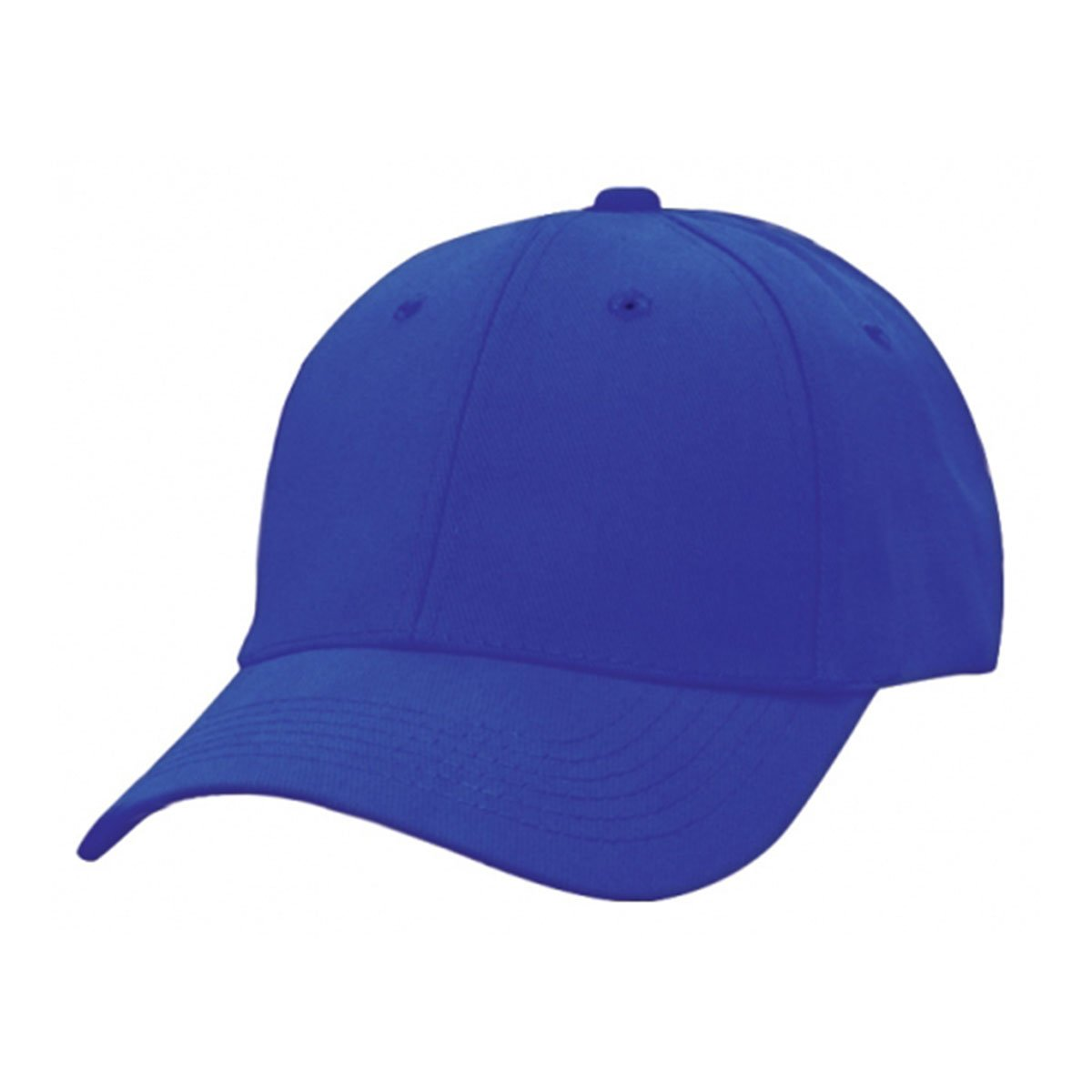 Heavy Brushed Cotton Cap-Royal