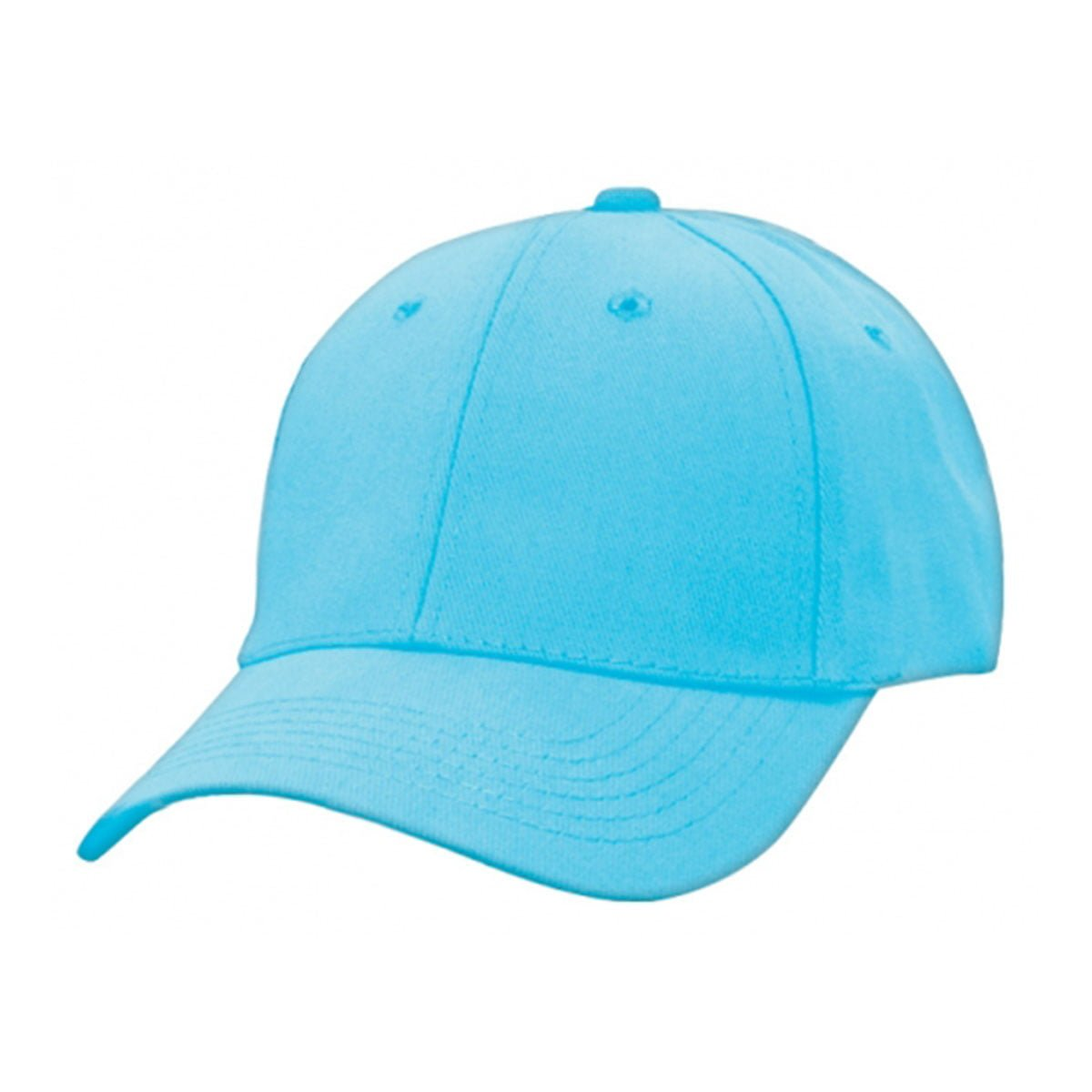 Heavy Brushed Cotton Cap-Sky