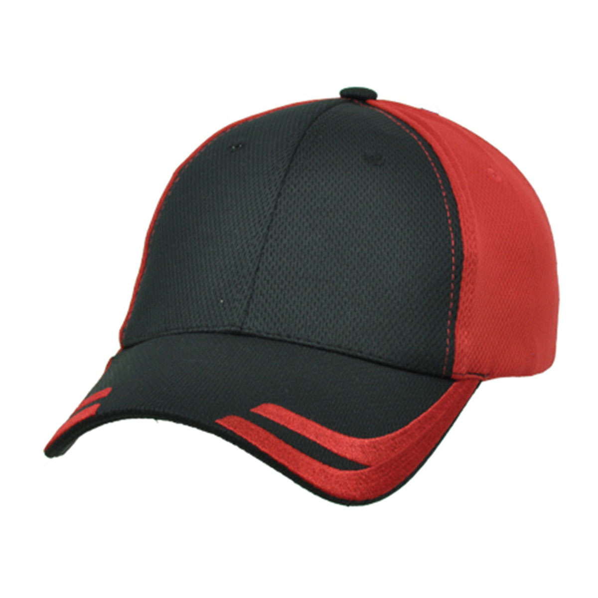 Tiburon Cap-Black / Red