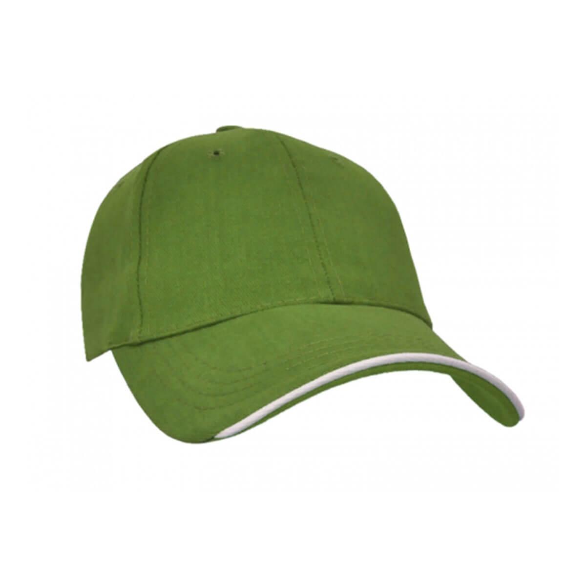 Navigator Cap-Olive / White / Olive