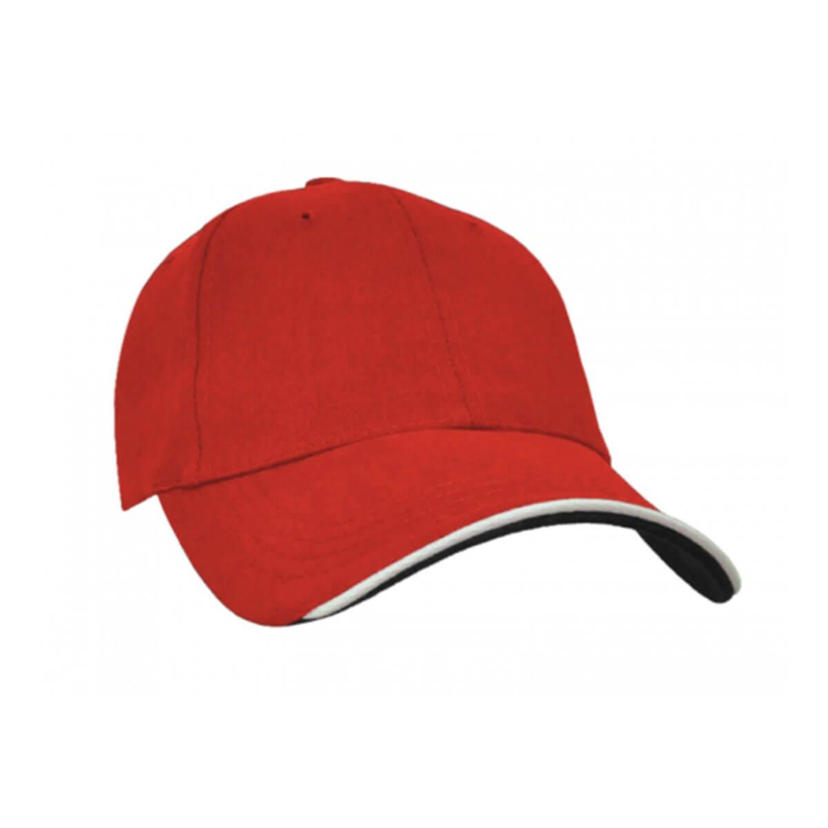 Navigator Cap-Red / White / Black