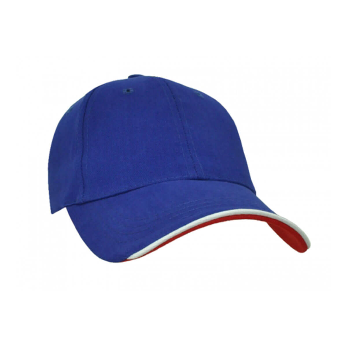 Navigator Cap-Royal / White / Red