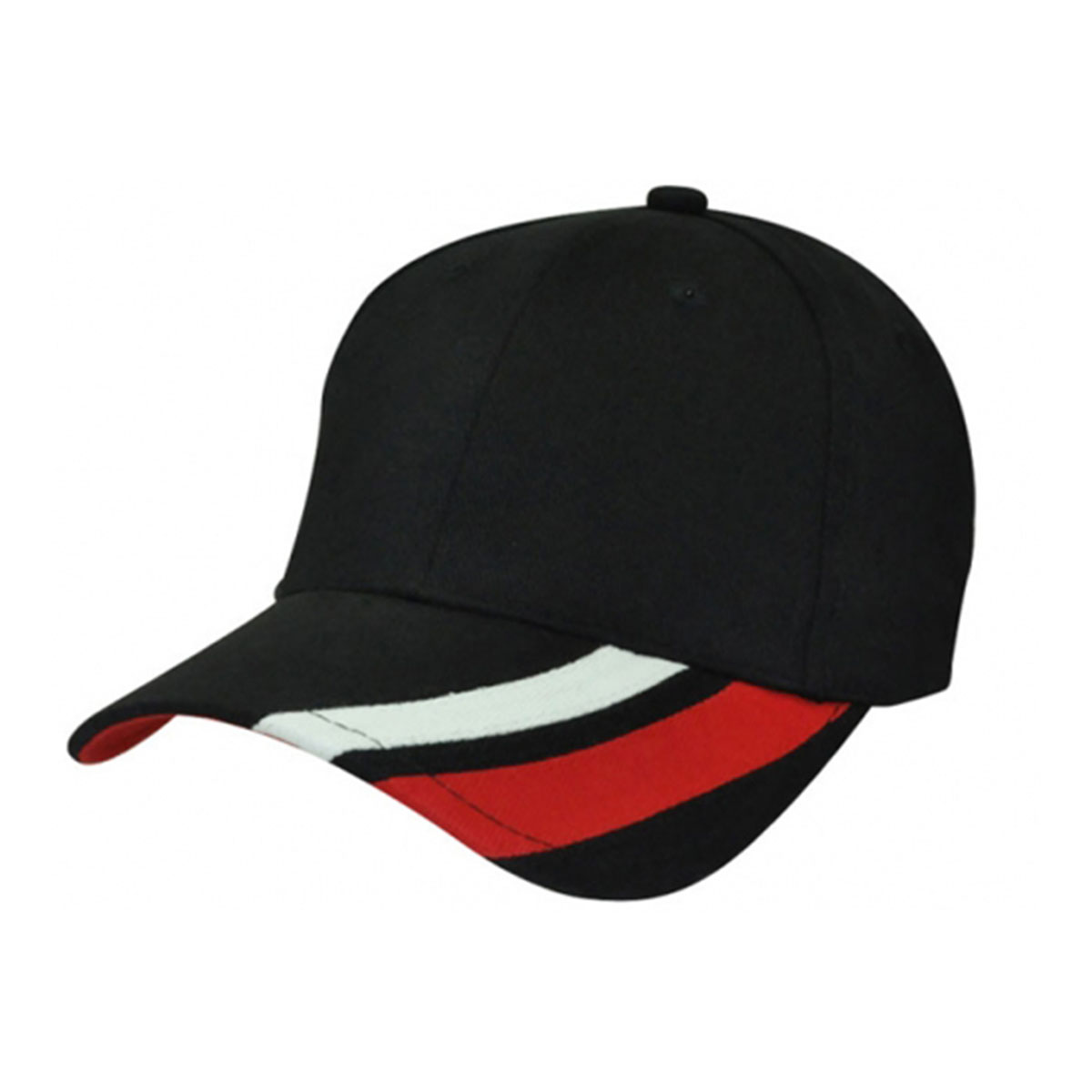 Metric Cap-Black / White / Red