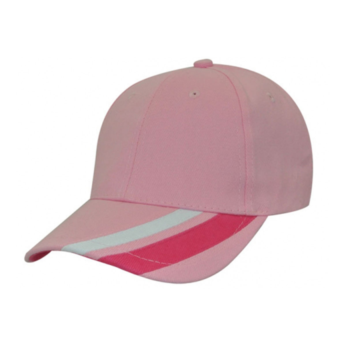 Metric Cap-Musk / White / Hot Pink