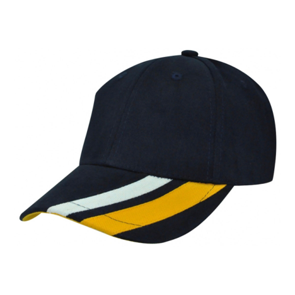 Metric Cap-Navy / White / Aussie Gold