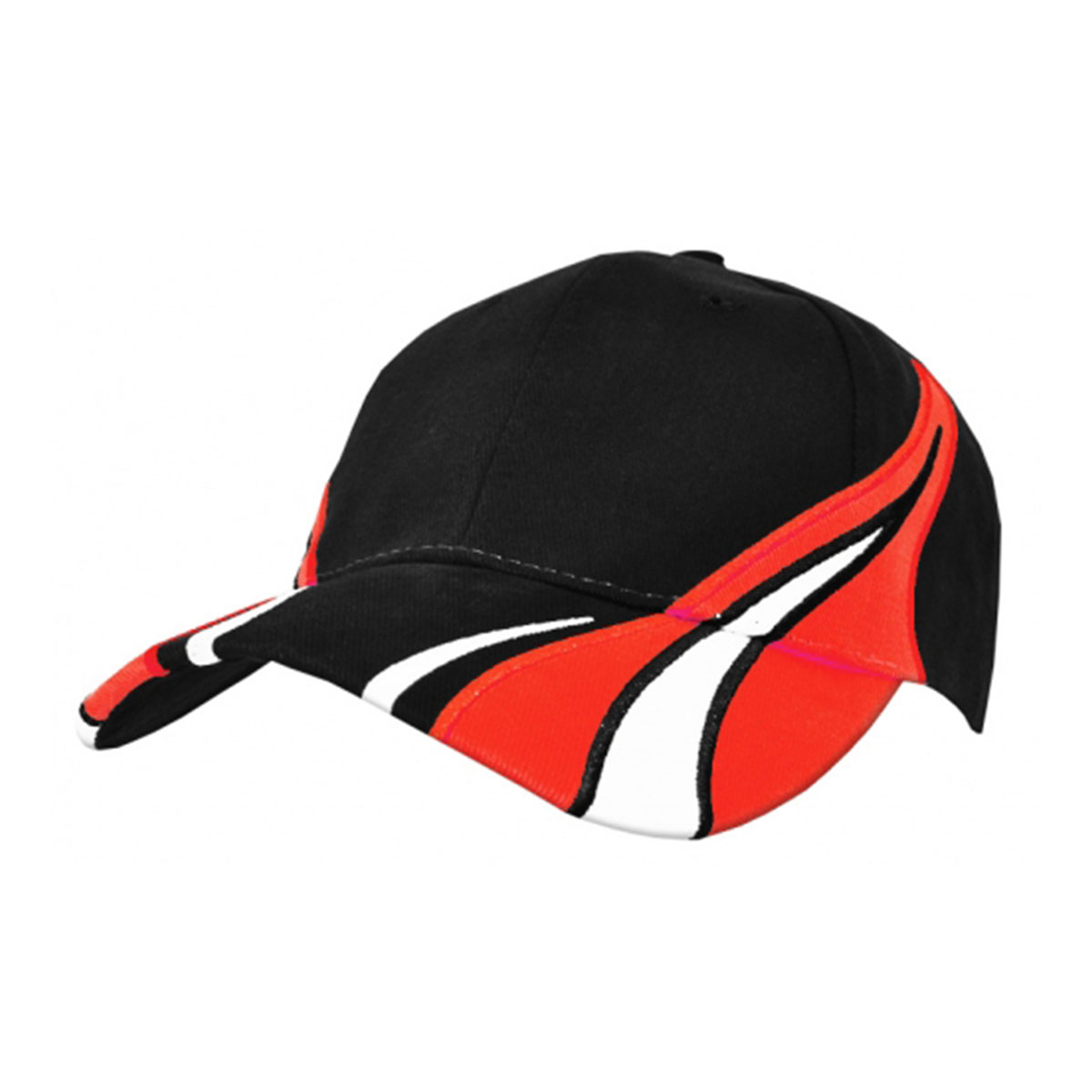 Viper Cap-Black / White / Red