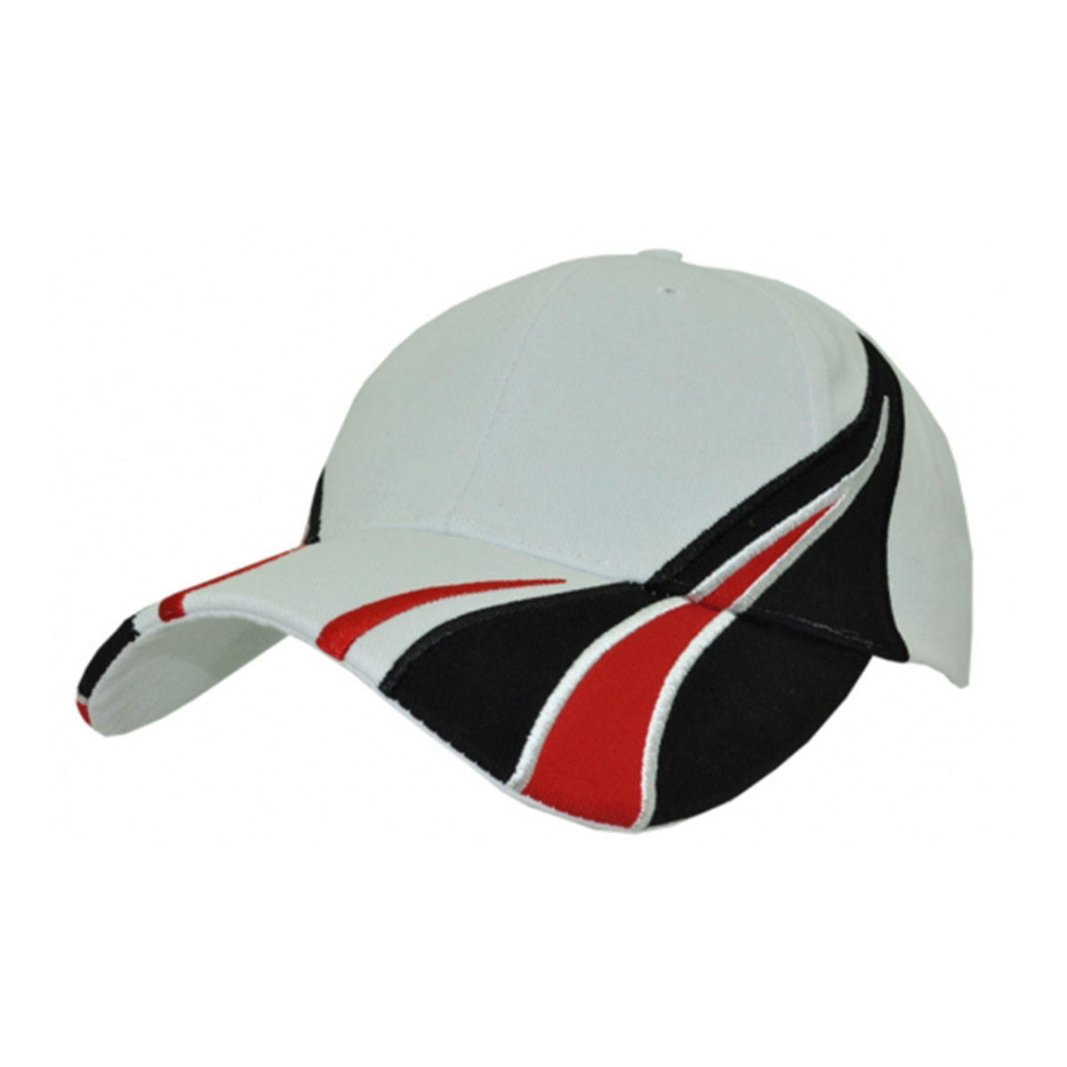 Viper Cap-White / Red / Black
