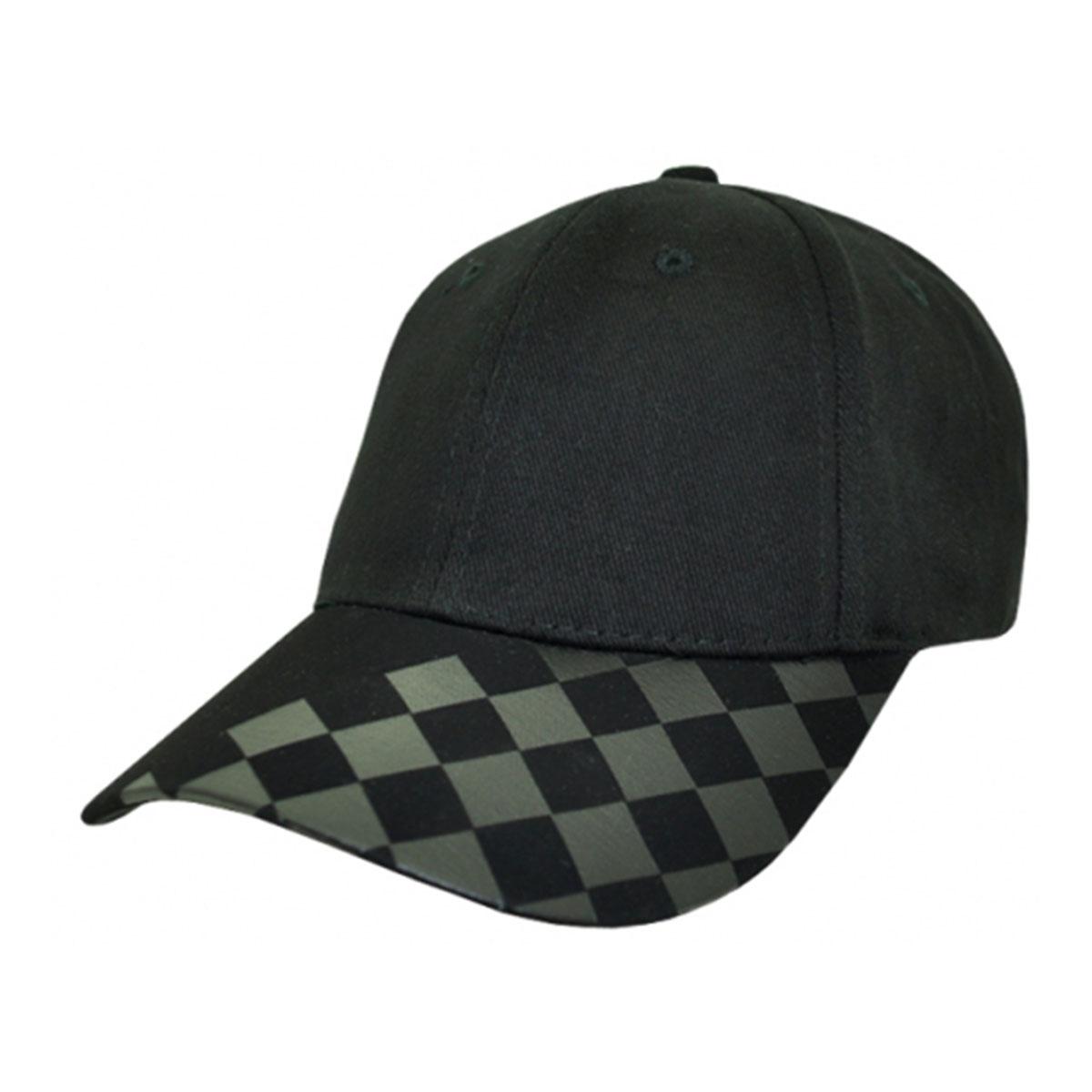 License Cap-Black / Black