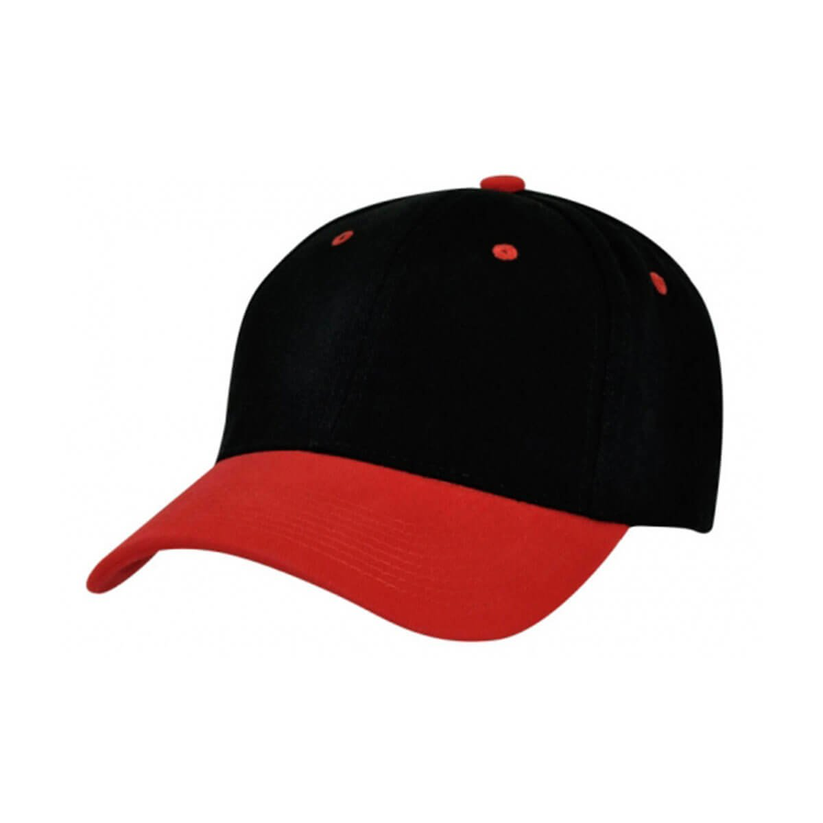 HBC Two-Tone Cap-Black / Red