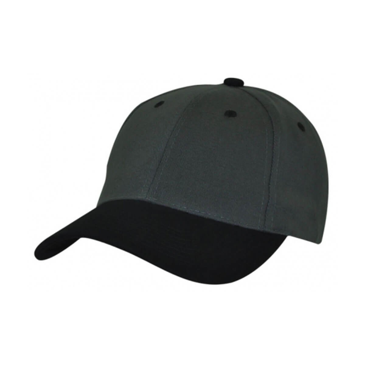 HBC Two-Tone Cap-Charcoal / Black