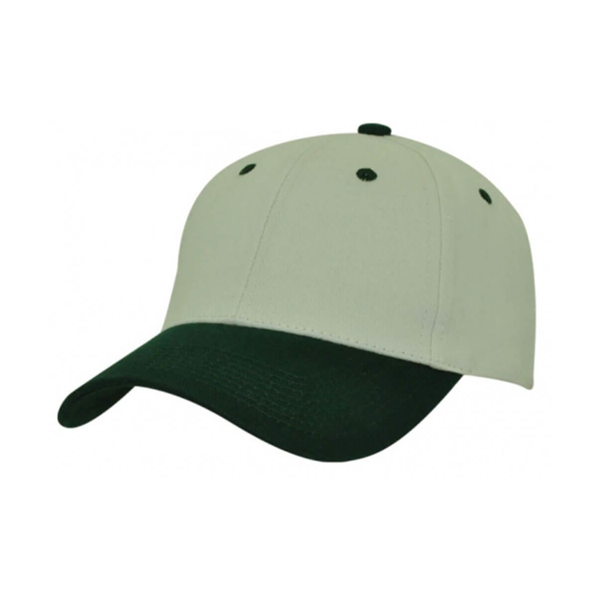HBC Two-Tone Cap-Natural / Bottle