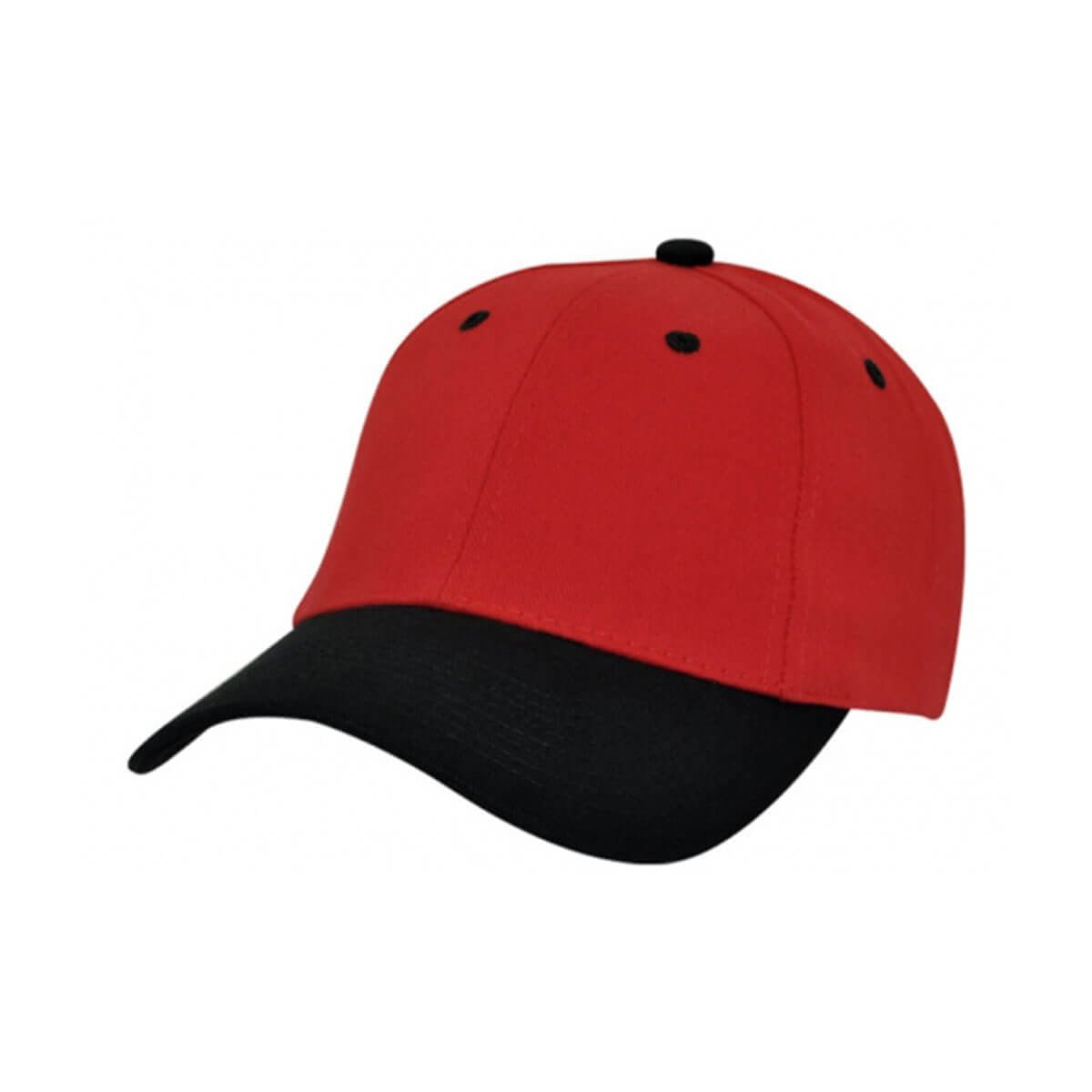 HBC Two-Tone Cap-Red / Black