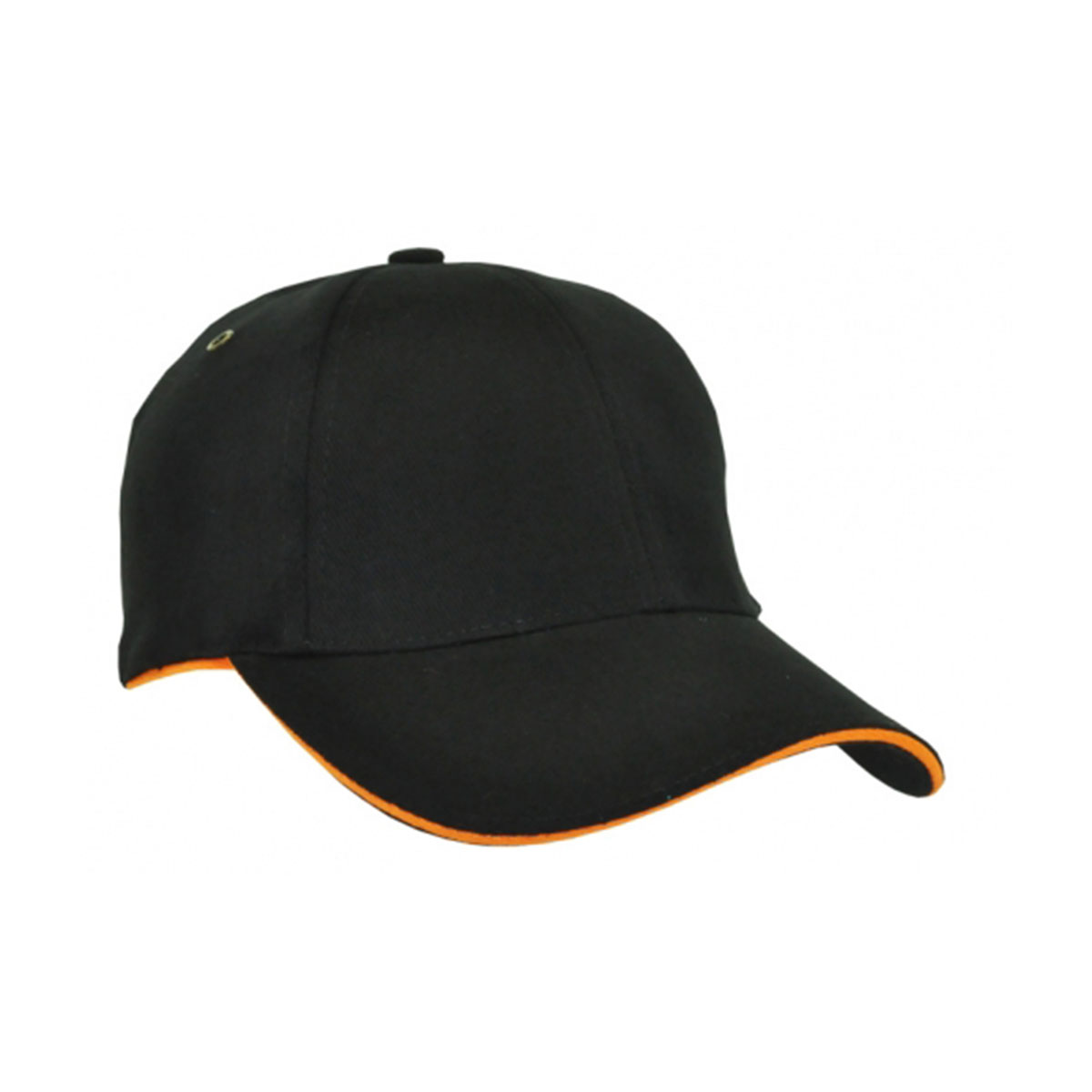 HBC Sandwich Surround Cap-Black / Orange