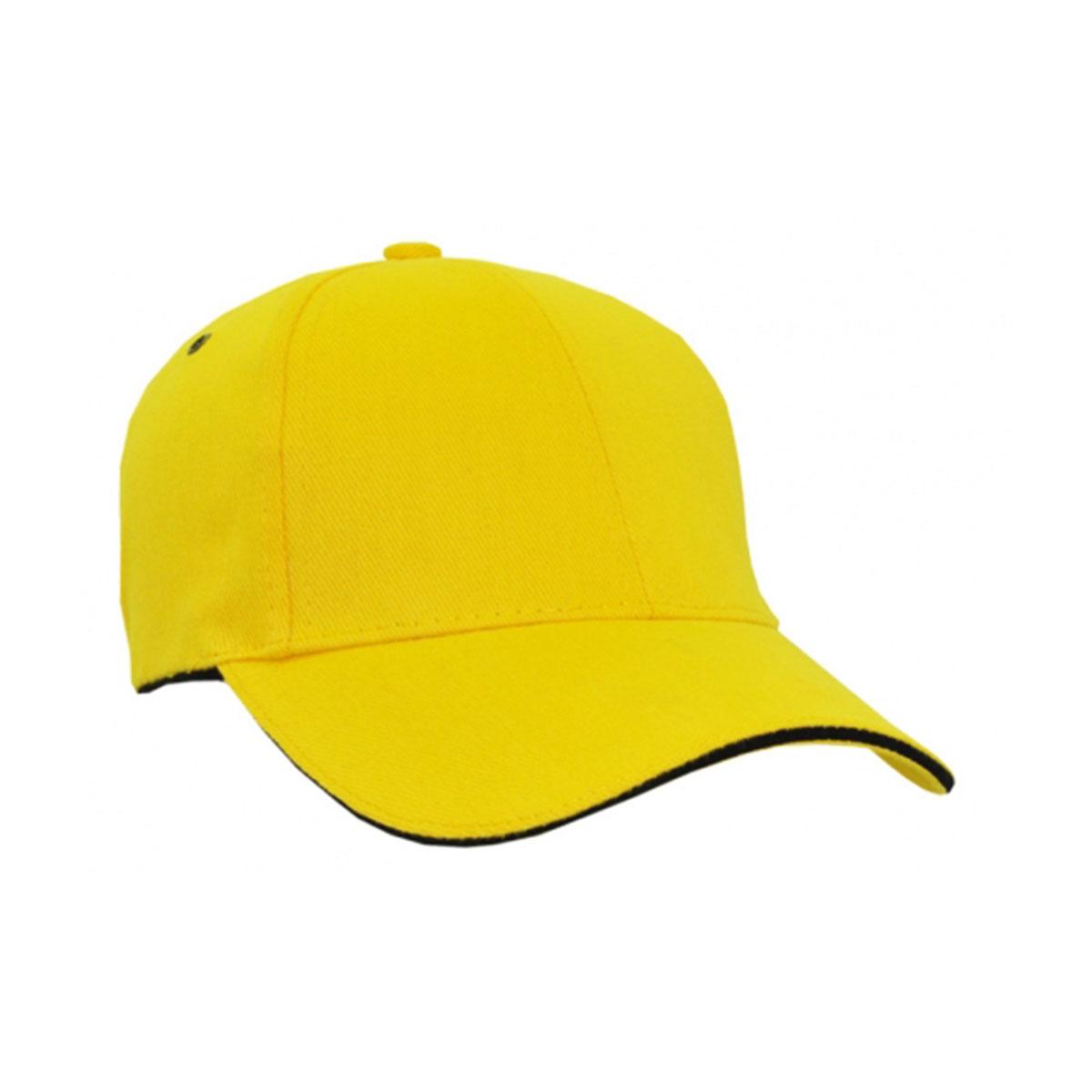 HBC Sandwich Surround Cap-Yellow / Black