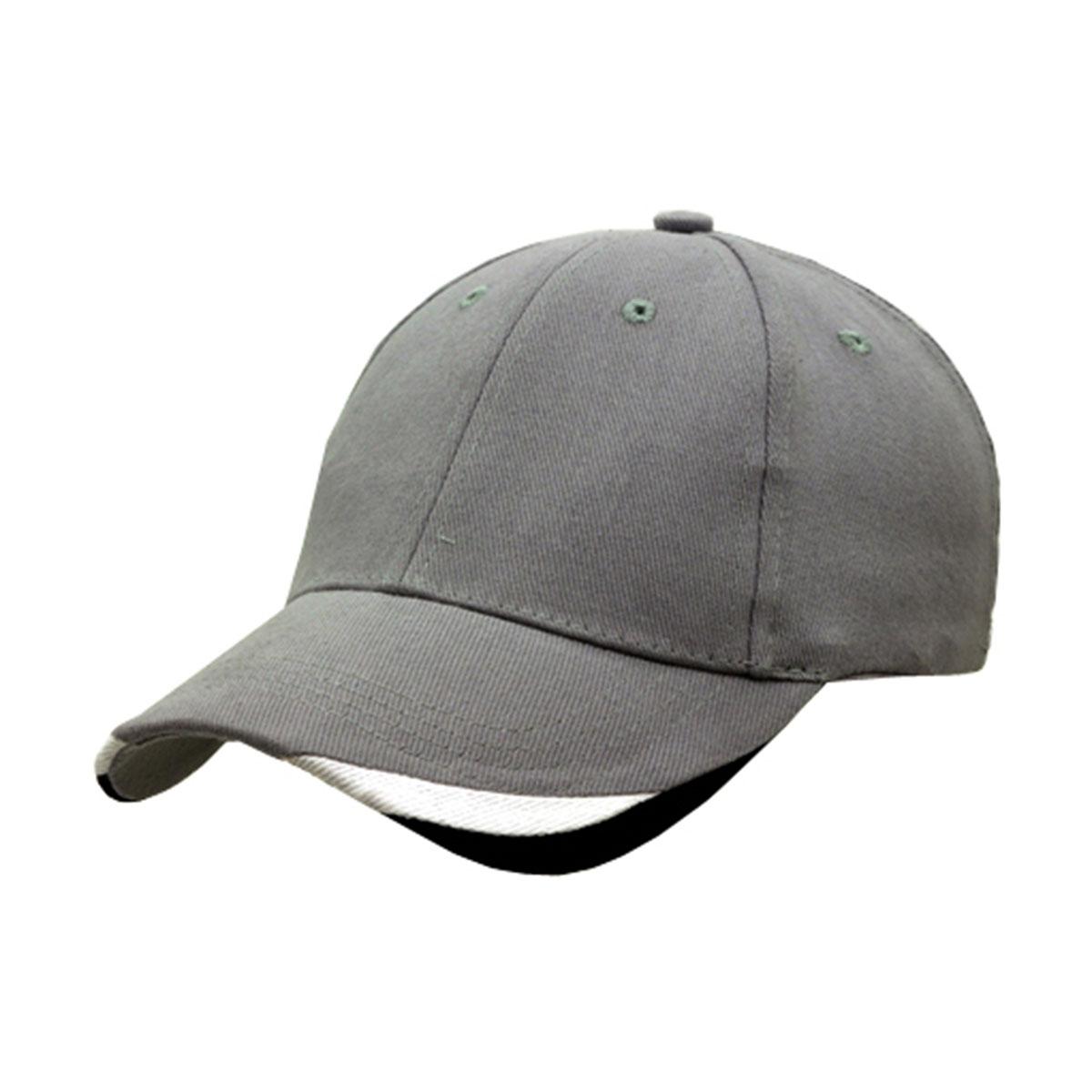 Bondi Cap-Dark Grey / White / Black